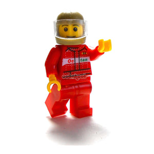 Speed Champion / Biker Racing Car Driver Oobakool Minifigure