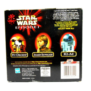 Star Wars / Anakin Skywalker Episode 1 Collection 1998 Hasbro 12 Inch Poseable Figure Nib