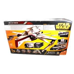 Star Wars / Arc-170 Fighter Rots Collection 2005 Hasbro 3.75 Series Vehicle Nib