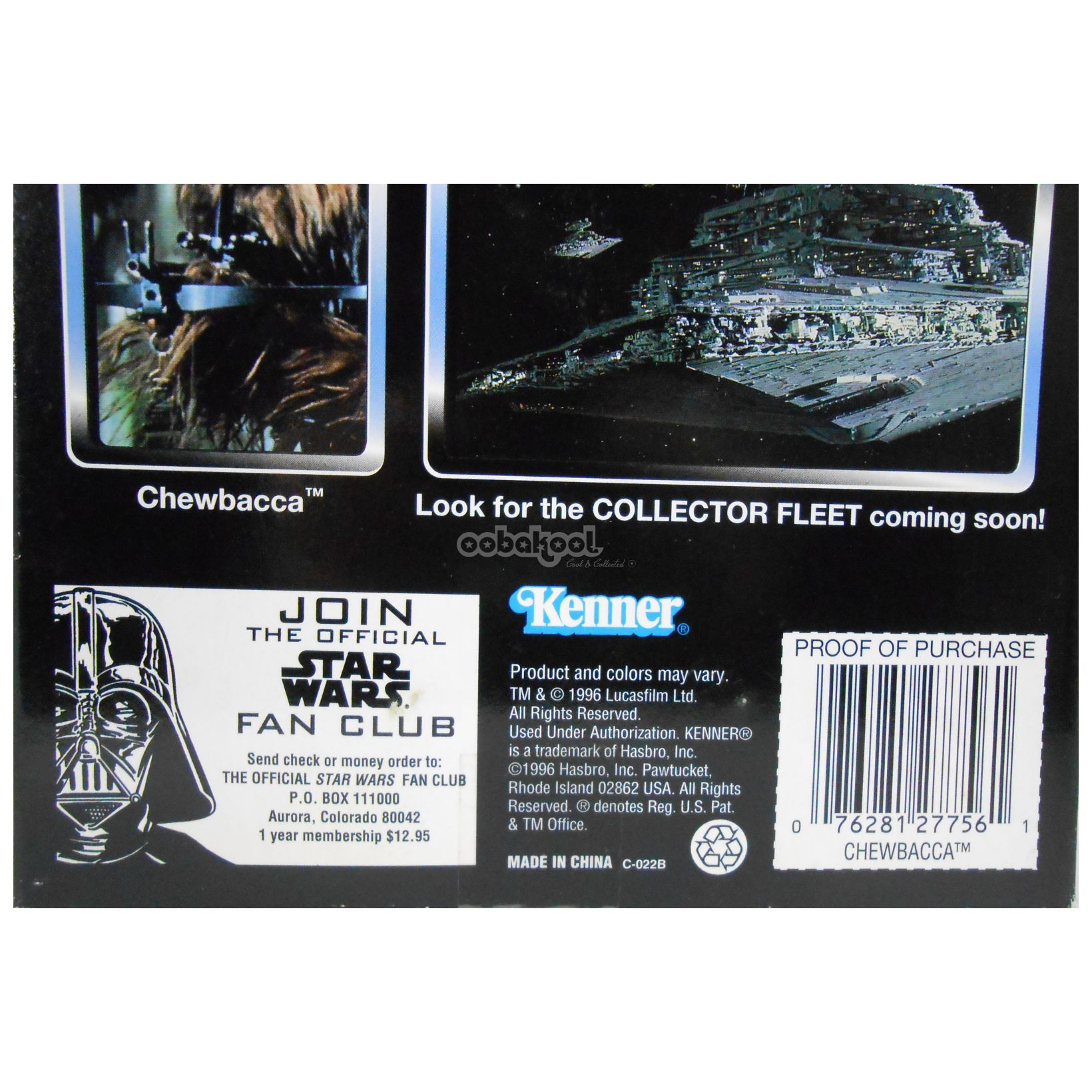 Star Wars / Chewbacca Collector Series 1996 Kenner 12 Inch Poseable Figure Nib
