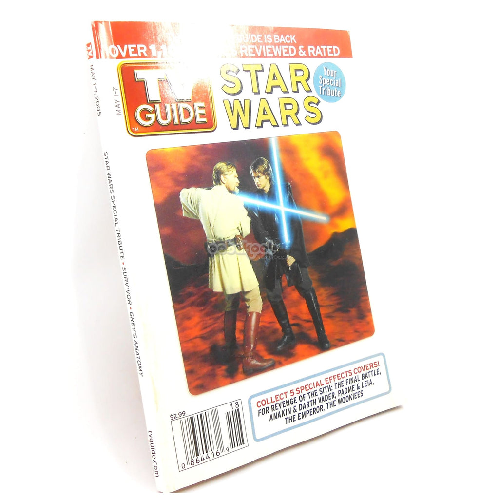 Star Wars / Final Battle Special Tribute Tv Guide Issue 1 May 2005 Vol 53 No 18 Memorabilia
