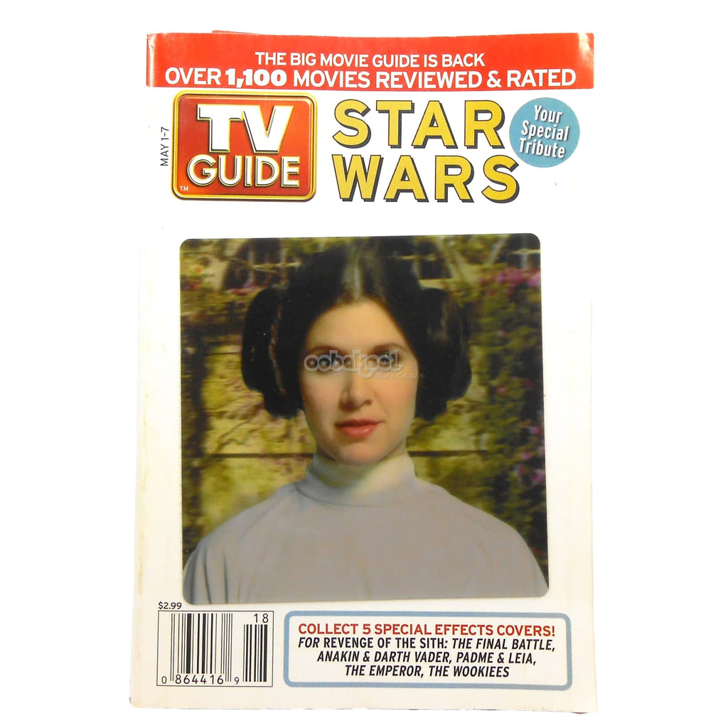 Star Wars / Princess Leia & Padme Special Tribute Tv Guide Issue 1 May 2005 Vol 53 No 18 Memorabilia