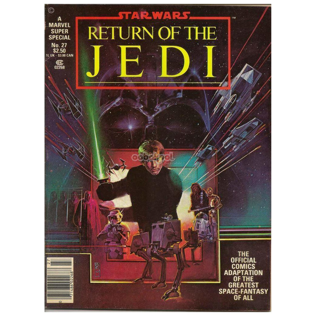 Star Wars: Return Of The Jedi / Marvel Super Special #27 1983 Vintage Graphic Novel Comic Book Novels