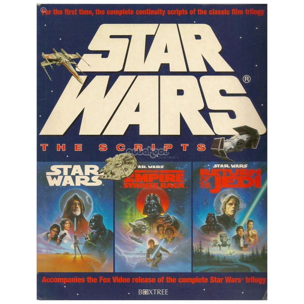 Star Wars / The Complete Scripts Lucasfilm 1995 Paperback