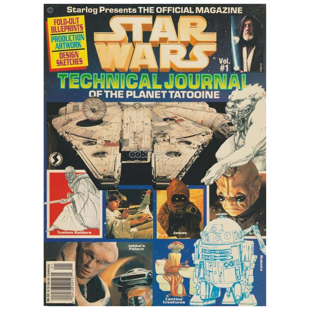 Star Wars / The Official Magazine 1992 #1 Technical Journal Collectors Paperback