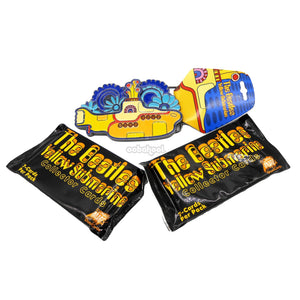 The Beatles / Yellow Submarine Metal Belt Buckle + Collector Card Packs