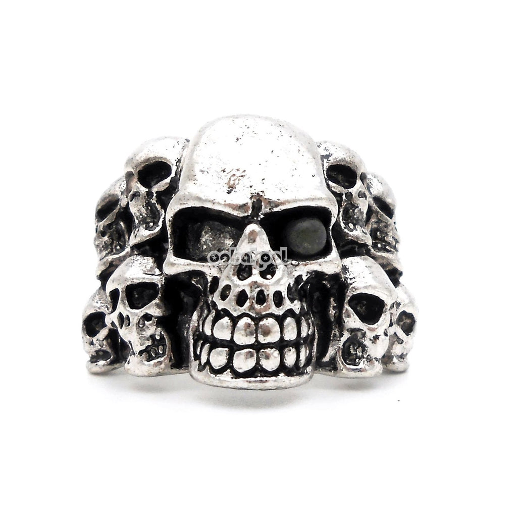The Collector / Skull Ring Stainless Steel