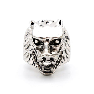 The Howling / Wolf Ring Stainless Steel
