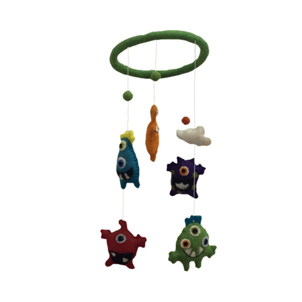 Felt Monster Mobile -