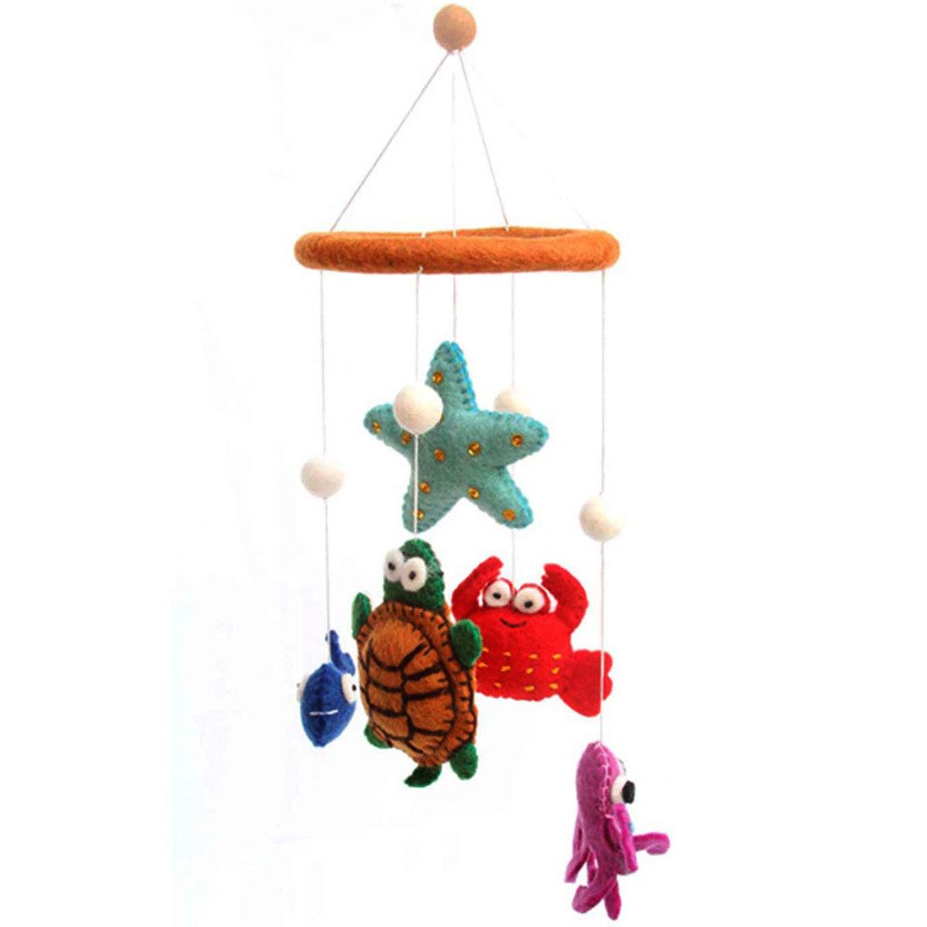Felt Deep Sea Mobile -