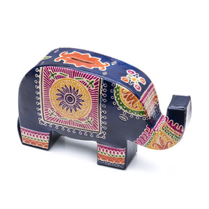 Leather Elephant Coin Bank - Matr Boomie