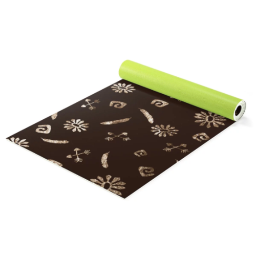 Boho Tribal Yoga Mat plus Carrying Bag