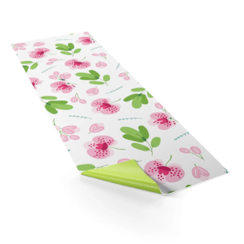 My blossom Yoga mat with Carrying Bag