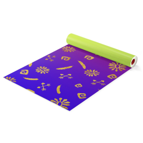 Tribal Yoga Mat plus Carrying Bag