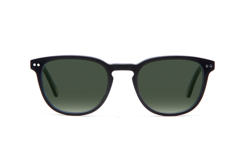 Stanley - Matte Black Sunglasses
