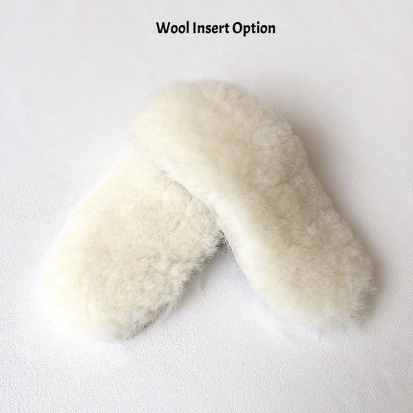 Lambs wool insert option