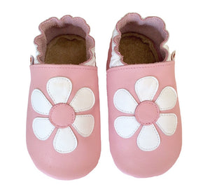 Pink White Daisy Shoes