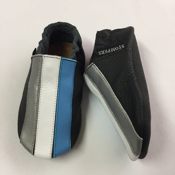 Black/Blue/White Baby Sports Shoes