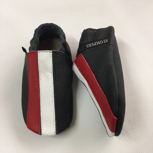 Black/White/Red Baby Sports Shoes