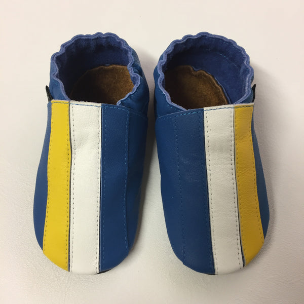 Cobalt/Yellow/White Baby Sports Shoes