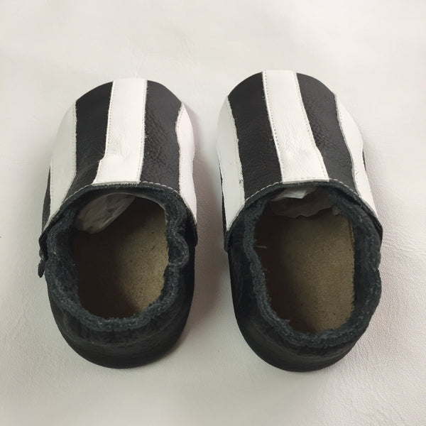 Black/White Baby Sports Shoes