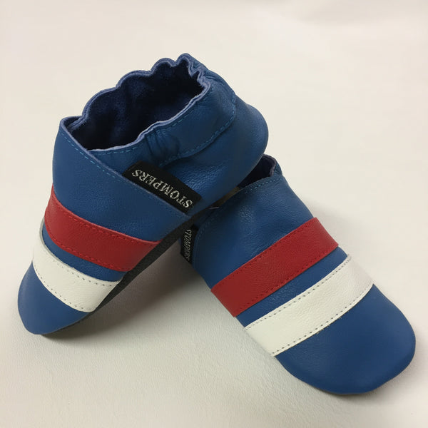 Cobalt Red White Baby Sports Shoes