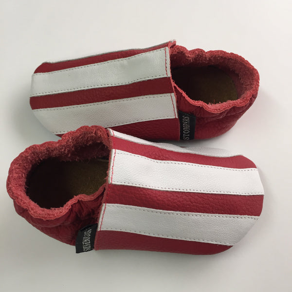 Red/White Baby Sports Shoes