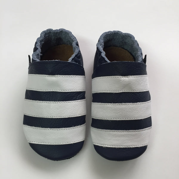 Navy/White Baby Sports Shoes