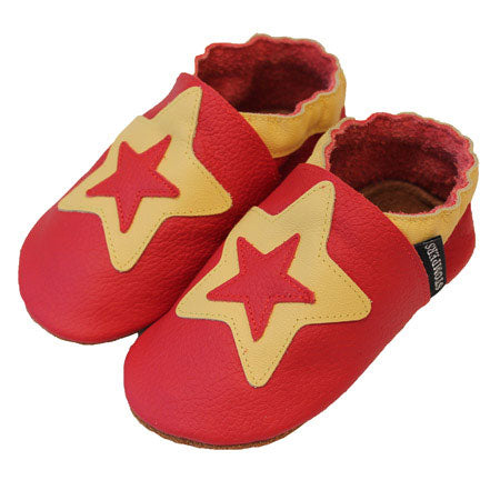 Red Yellow Star Shoes