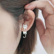 Cat & Fish Earrings