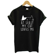My Cat Loves Me Tee