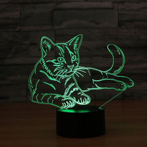 LED Cat Lamp