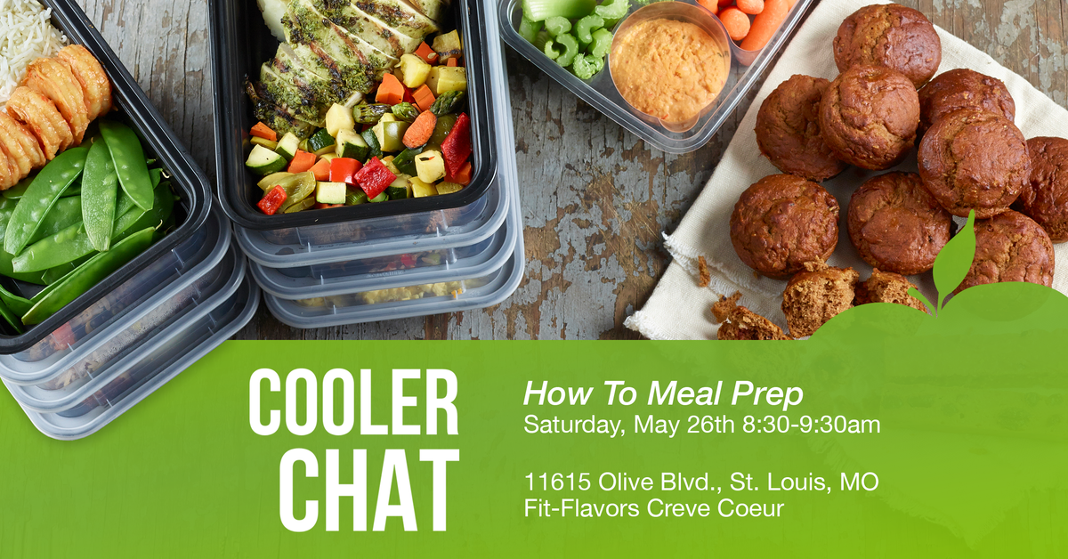 Cooler Chat: How to Meal Prep