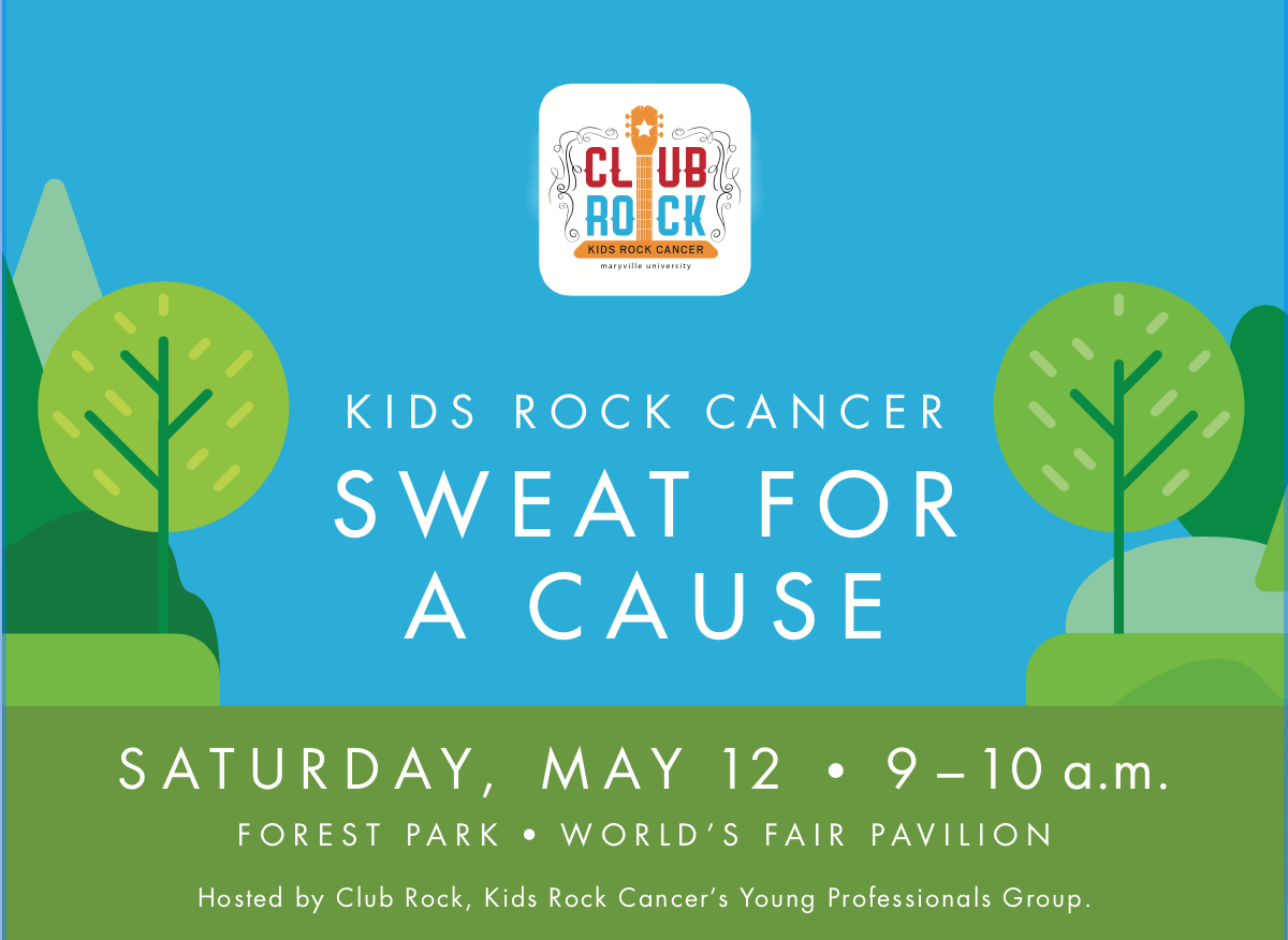 Kid's Rock Cancer Sweat For A Cause