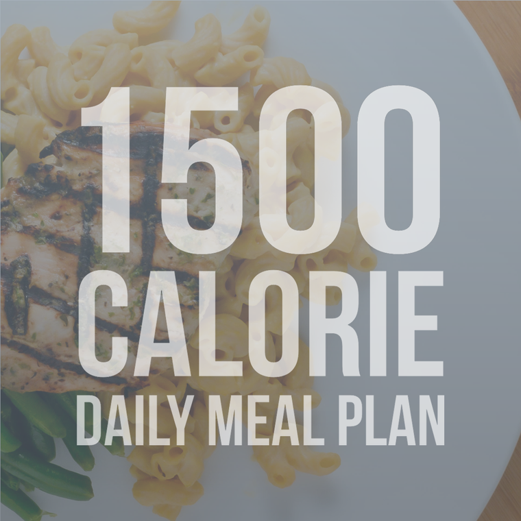 1500 Calorie Daily Meal Plan