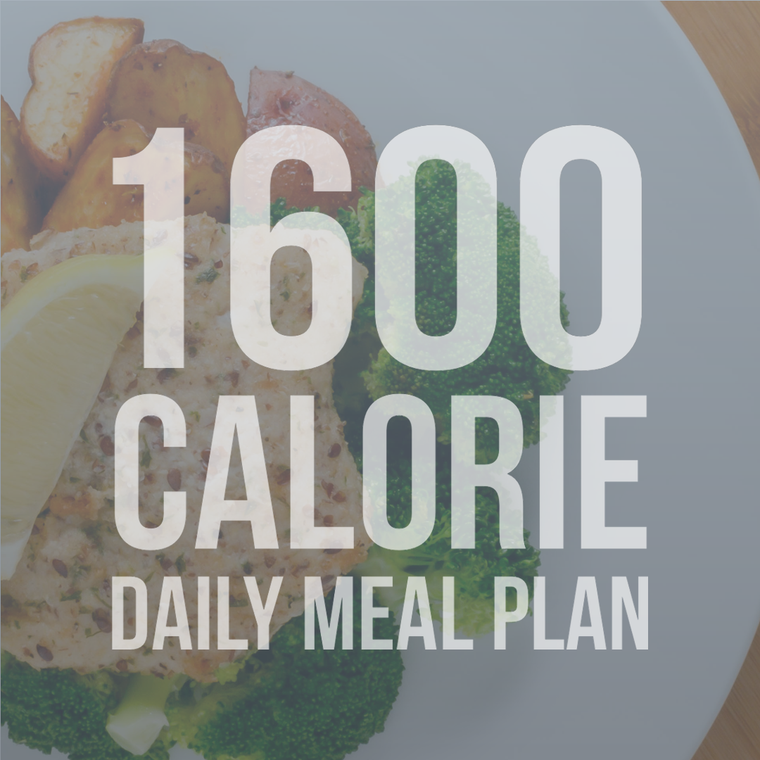 1600 Calorie Daily Meal Plan