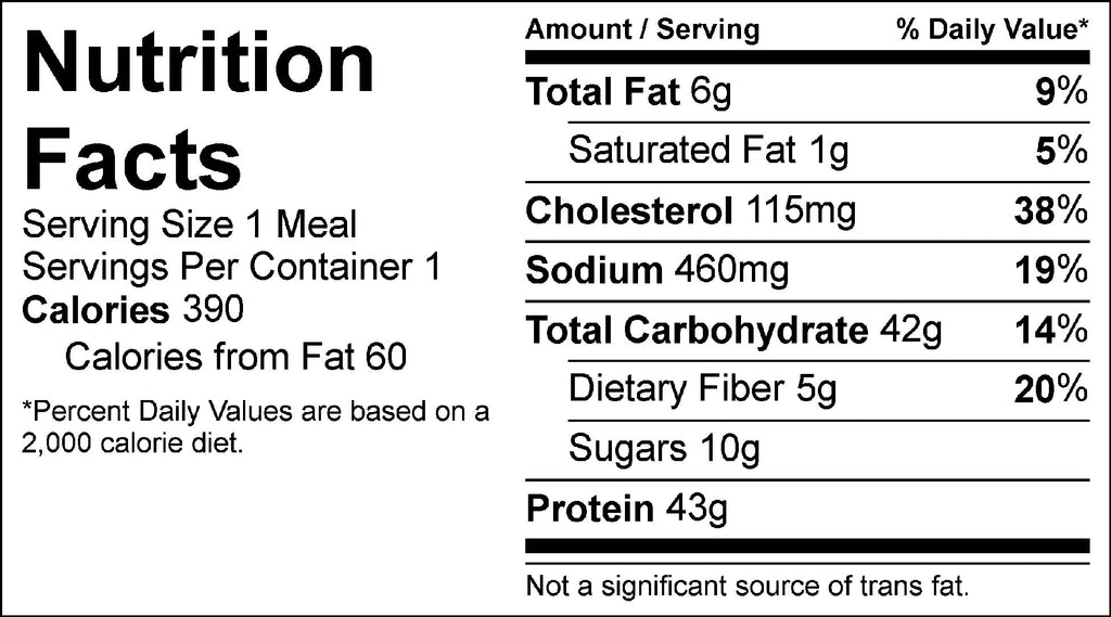 lo mein nutrition facts