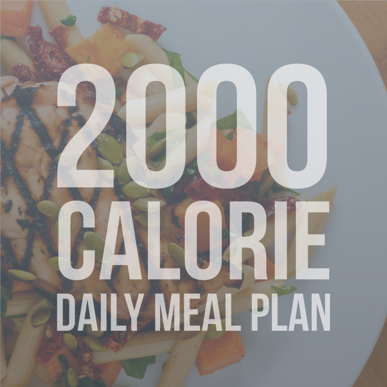 2000 Calorie Daily Meal Plan