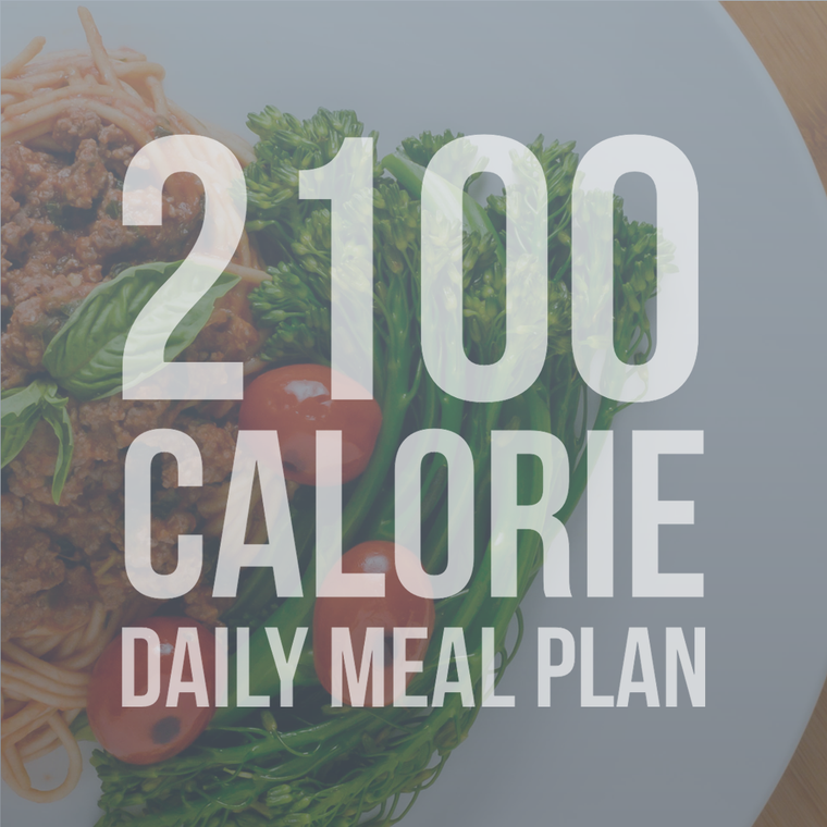 2100 Calorie Daily Meal Plan