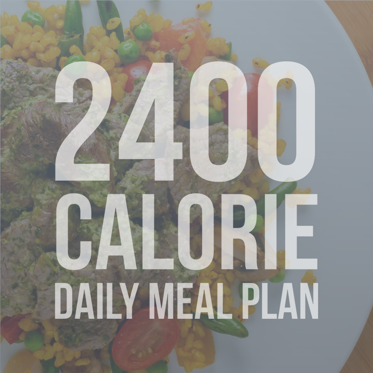 2400 Calorie Daily Meal Plan