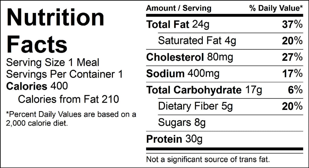 asian salmon nutrition facts