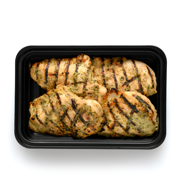 pure protein rosemary apple chicken overhead