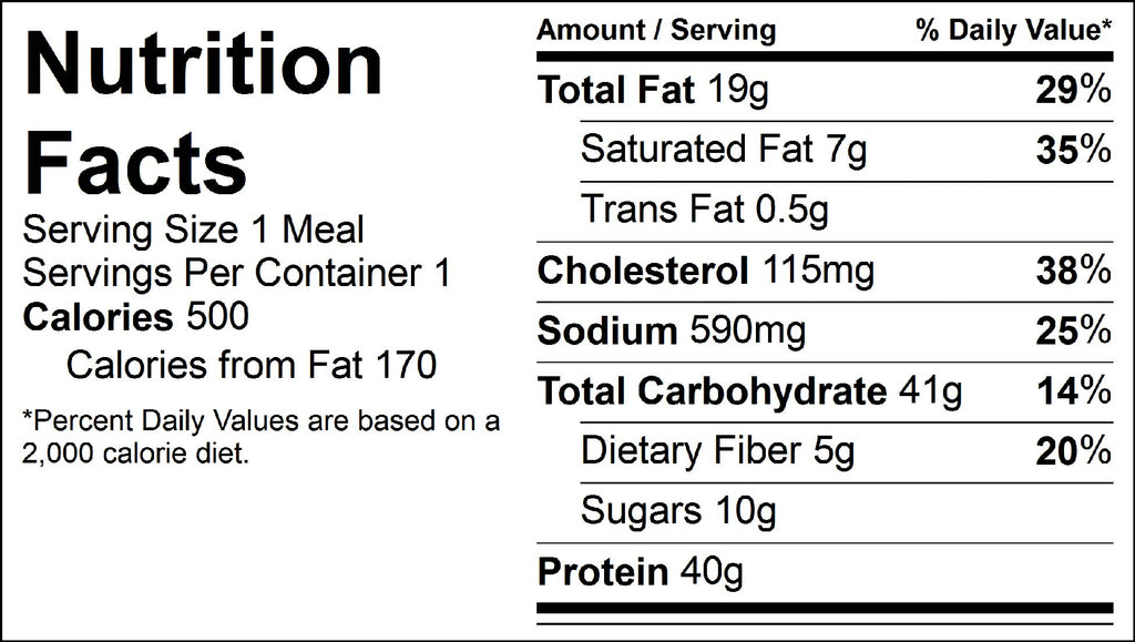 backyard burger and fries nutrition facts