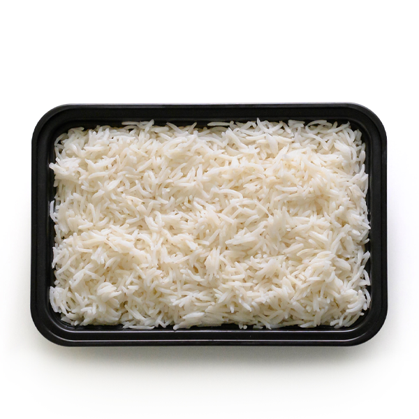 carb load coconut rice overhead