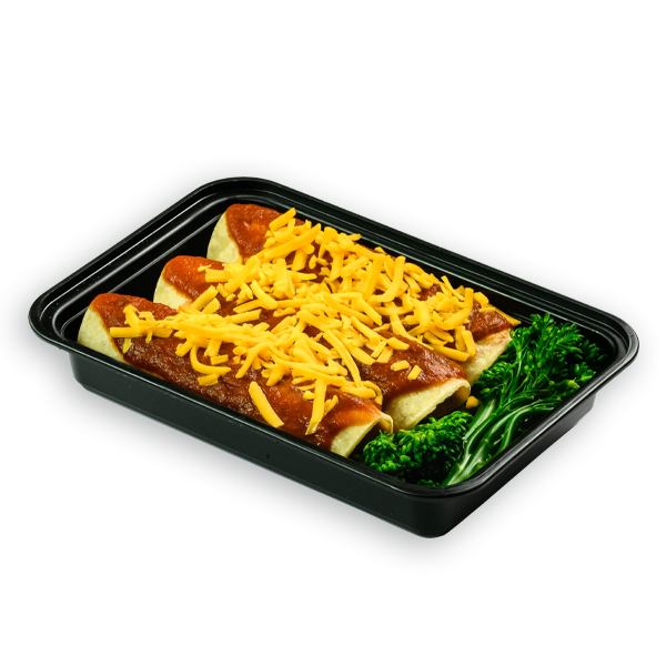 beef enchiladas packaged