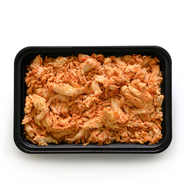 pure protein pulled buffalo chicken