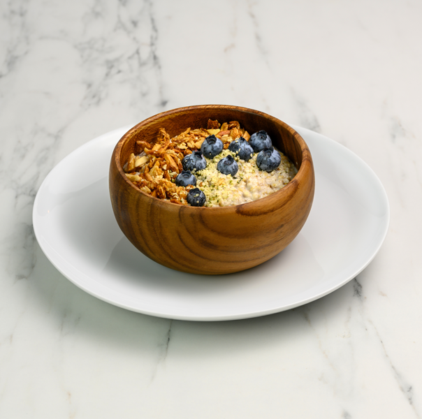blueberry power oats