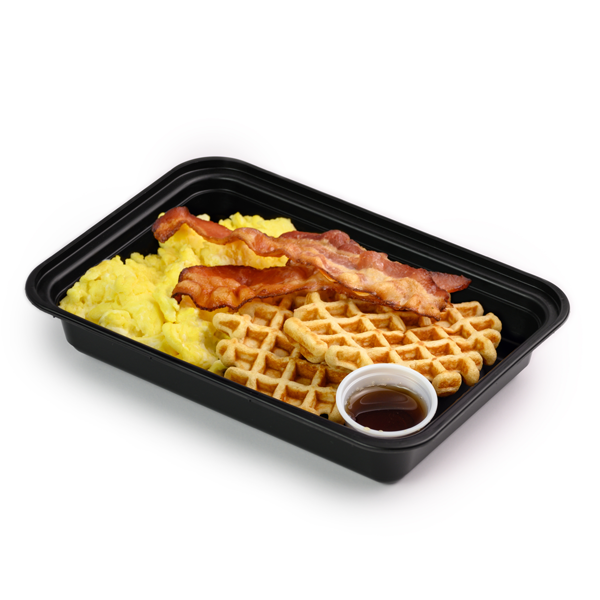 bacon and eggs container