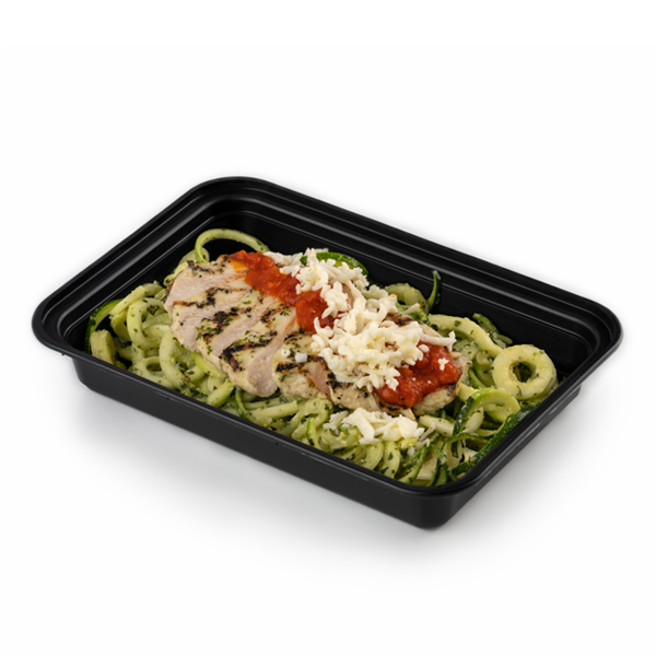 chicken margherita in container