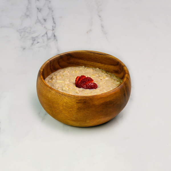 strawberries and cream steel cut oats